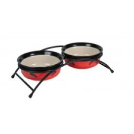 Eat on Feet ceramic bowl set