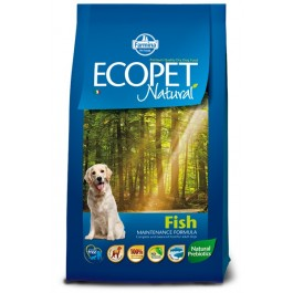 Ecopet Fisk Medium 12kg NATURA