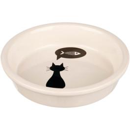 Keramikskål kat 0,25l Ø13 hvid