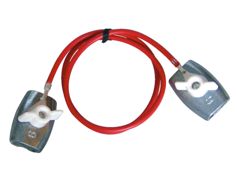 Forbinder t/reb rustfri 65cm
