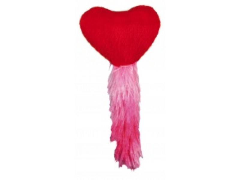 Hjerte Plys 13cm