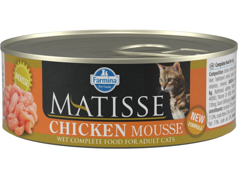 Matisse Cat Chicken 85gr Mouss