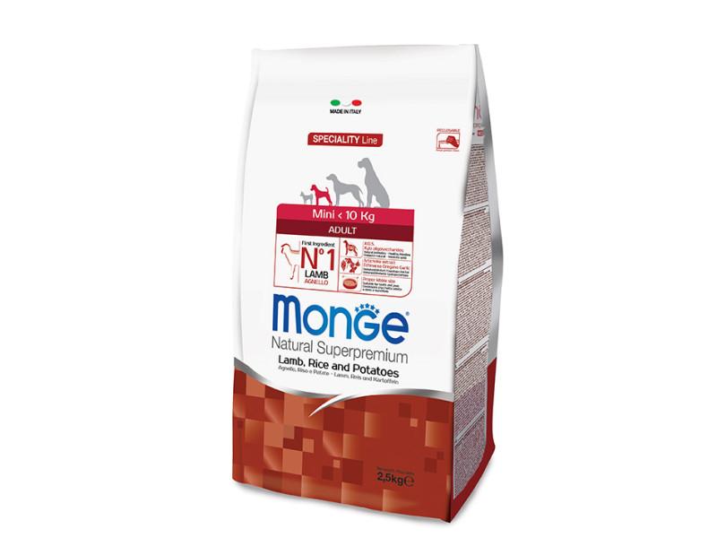 Monge Lamb,Rice&Potatoes 2,5KG