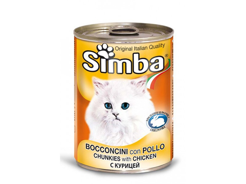 Simba Cat Kylling 3x24x415gr