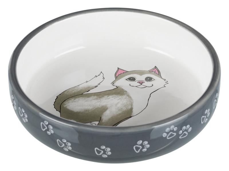 Katteskål t/kort snudet racer