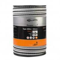 PowerLine Bånd 40mm hvid 200m