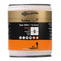 TurboLine Bånd 12,5mm hvid 200