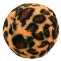 Bolde 4stk med leopardmønster