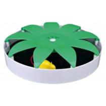 Magnetisk mus Ø25cm hvid/grøn
