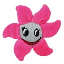 Blomst fabric/plys 9cm