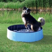 Dog Pool Ø160x30cm Dark Blue