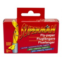 Fluefangere SUPERMAN 4stk