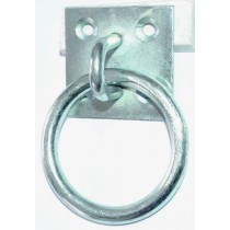 Vægbeslag m/ring elgalv