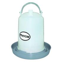 Fjerkrævander cylinder grå 1,5