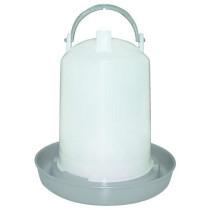 Fjerkrævander cylinder grå 6Lt