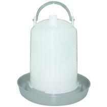 Fjerkrævander cylinder grå 11L