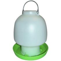 Bowle-vander grøn m/ben 6,5ltr