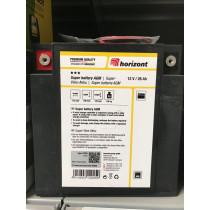 Batteri 12V / 27Ah Super Vlies