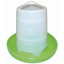 Fodertårn plast grøn u/låg 1,5