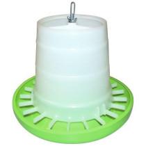 Fodertårn plast grøn u/låg 5kg