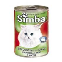 Simba Cat Kød 24x415gr