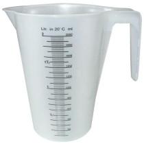 Målekande plast grad.20ml 2ltr