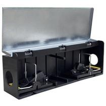 Tunnelbox Mus m/2 smækfælder