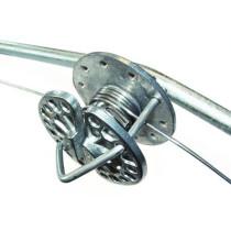 Trådstrammer rund t/galv.tråd