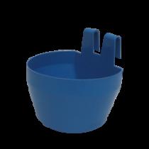 Drikkekar/foderskål blå
