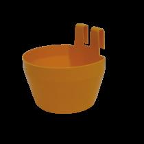 Drikkekar/foderskål gul
