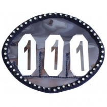 Crystal numbers holder navy
