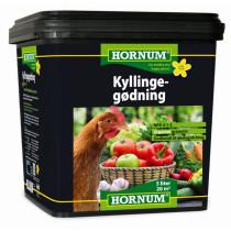 Hornum Kyllingegødning 5Ltr