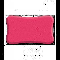 Svamp vaske pink 16.5x11x5cm