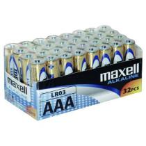 Batteri AAA/LR03 32stk ALKALIS