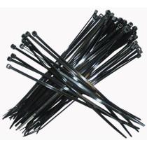 Kabelbinder sort 7,5x365 100st