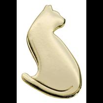 Pin Kat guld