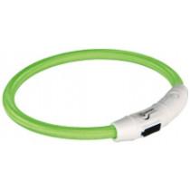 Blitzlys ring M-L 45cm Grøn