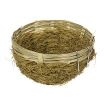 Bambusrede m/kokos Ø13x6cm