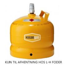 Gas 5 kg GUL UDEN FLASKE