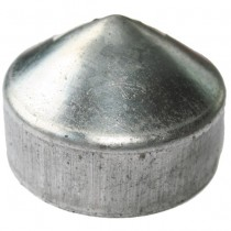 Stolpehat Varmgalv. Ø120mm