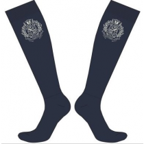 Strømpe boots navy one-size