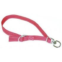 Fårehalsbånd 25mm-75cm rød