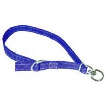 Fårehalsbånd 25mm-75cm blå