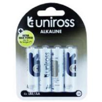Batteri AA/LR06 4stk ALKALISK