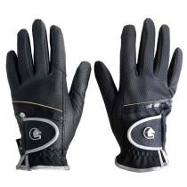 Handske Dabster sort/sølv