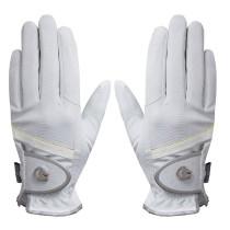 Handske Dabster hvid/sølv