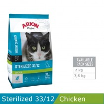 Arion Cat Sterilized 7,5kg CHI