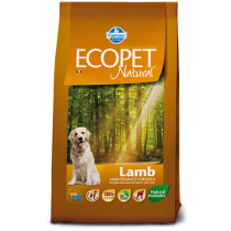 Ecopet Lamb Medium 12kg NATURA