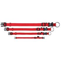 Halsbånd 35-55cm rød Classic