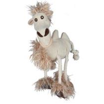 Kamel langhåret plys 32cm